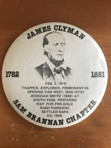 Great Great Great Grandfather to Denise M. Colby 6th Generation to James Clyman