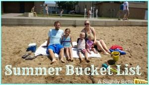 Pondering The Summer Bucket List: 2015