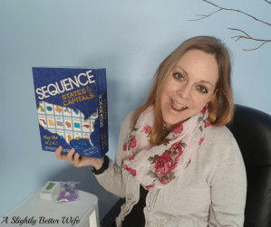 Homeschool Fun Friday:  Sequence States & Capitals Game Review