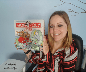 Homeschool Fun Friday:  Monopoly Junior Game Review