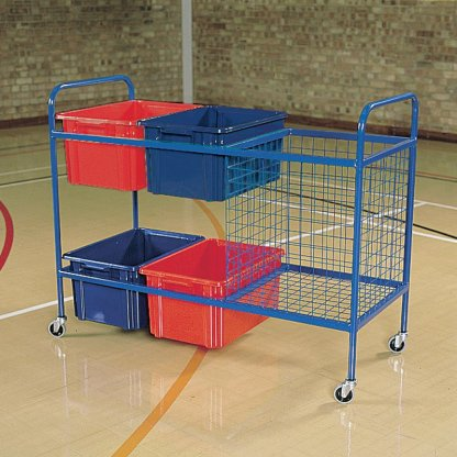 Storage Trolley  (with mesh container)