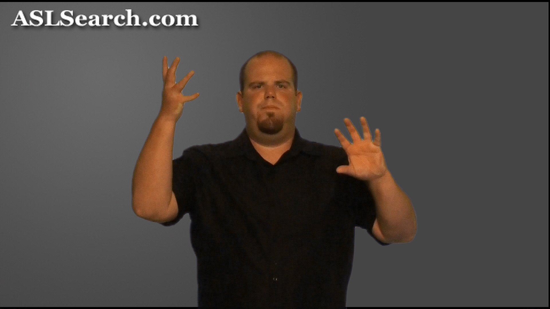 Sign For Mess In American Sign Language Asl