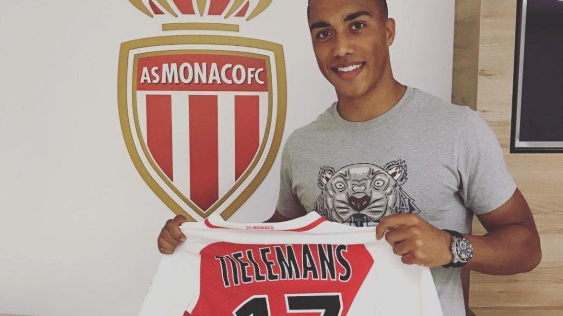 L'AS Monaco annonce la signature de Youri Tielemans !