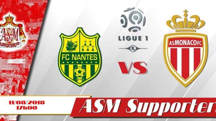 [L1J1] Nantes – Monaco (1-3)