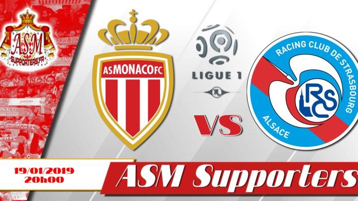 Monaco coule contre Strasbourg (1-5)