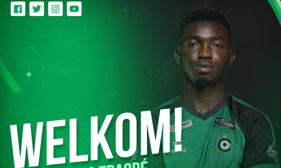 Officiel : Adama Traoré rejoint le Cercle de Bruges