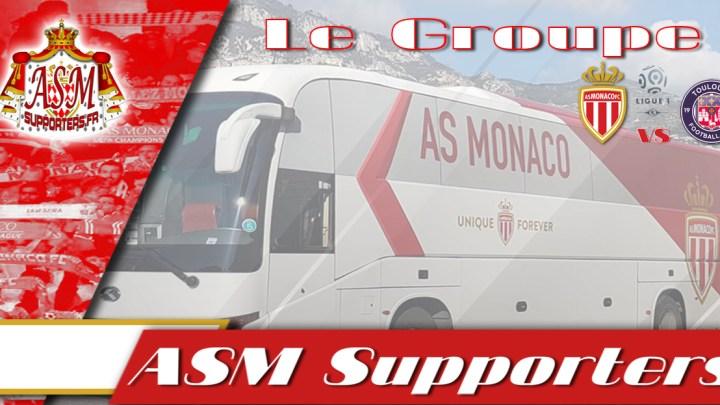 Monaco-Toulouse: Le groupe monégasque