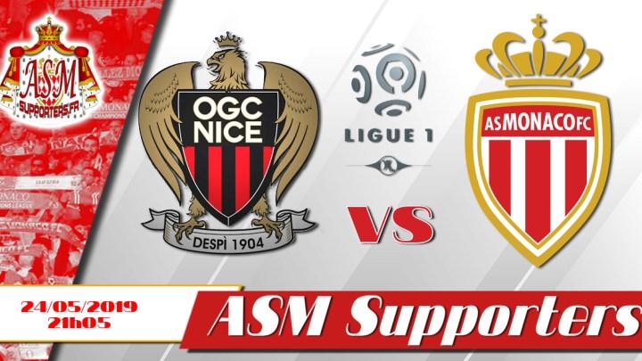 Monaco s'incline face à Nice (2-0)