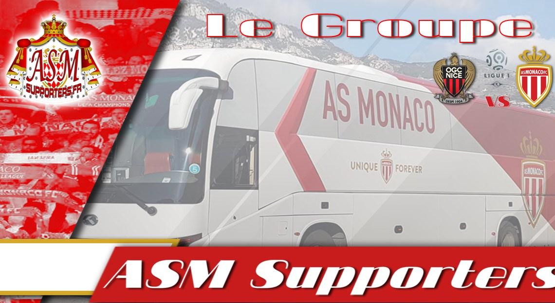 Nice-Monaco : Le groupe monégasque