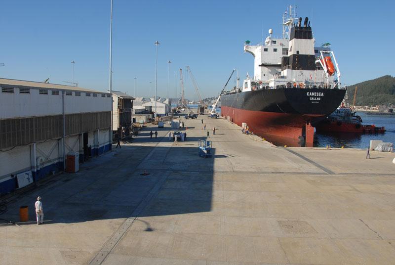 Áreas de trabajo ASMAR Talcahuano