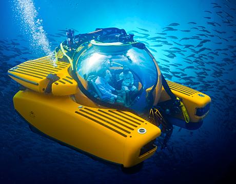 Sailing The Seas In A Submarine