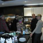 Impressionen der Kochvorführung vom 08. Januar 2011