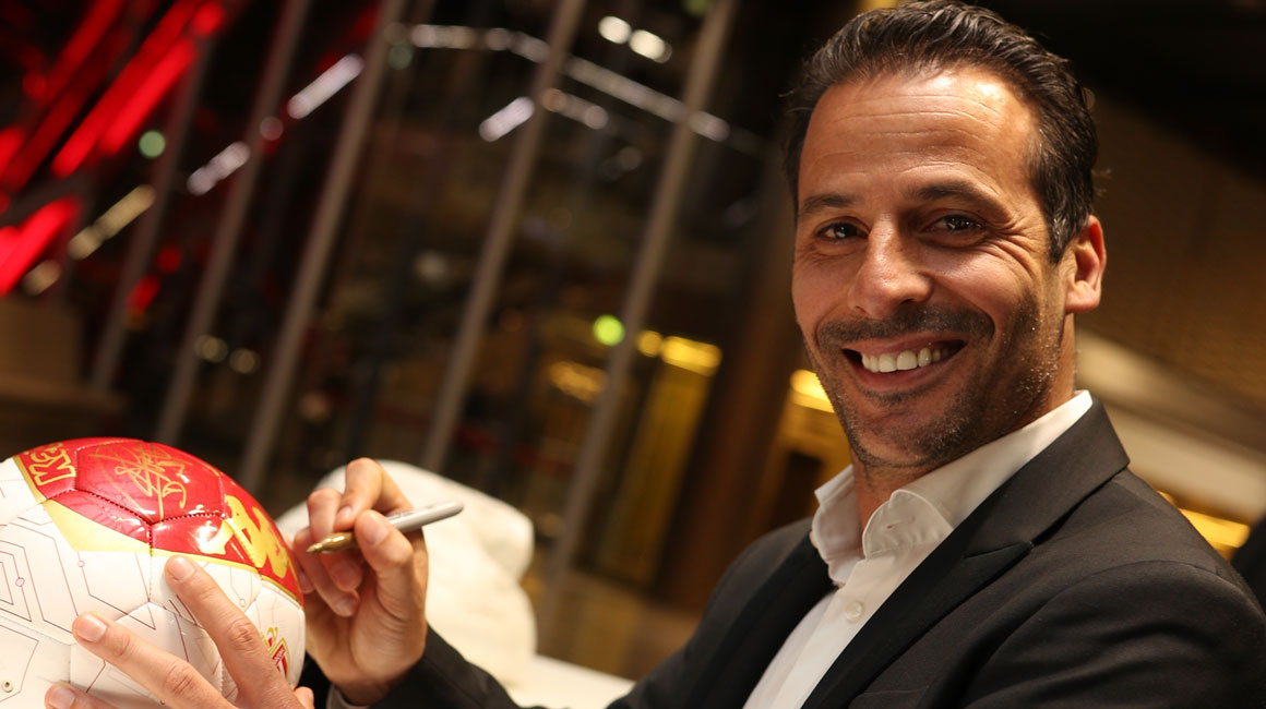 """Ludovic Giuly : """"If we win, I'll be even more proud"""" - AS Monaco"""