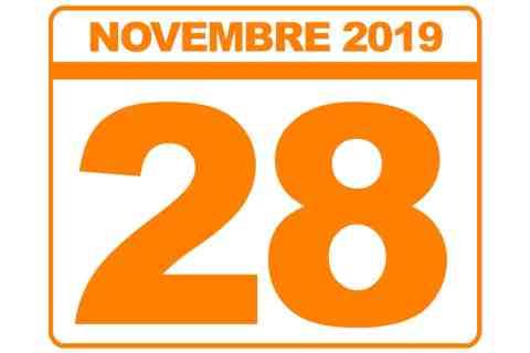 28 novembre 2019