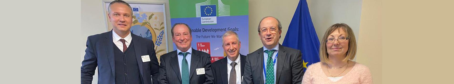 ASOBIOCOM se reunió con la Dirección General de Medio Ambiente Europea en Bruselas