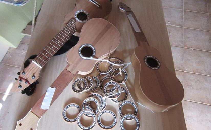 Proceso y elaboración de un timple: elaboración de rosetas 2/2