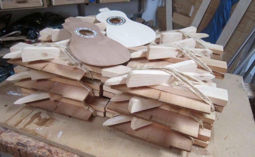 Proceso y elaboración de un timple: La tapa
