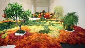 "Exposición ""Un jardín japonés"" por Esther Pizarro."