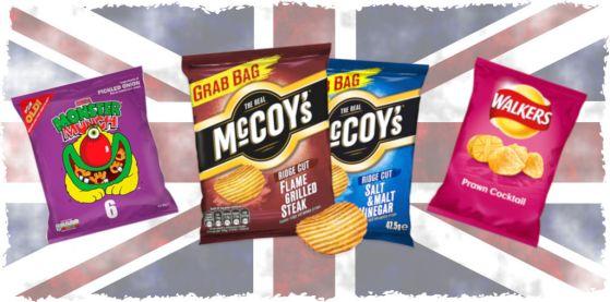 British Crisps found on Amazon - Part 1