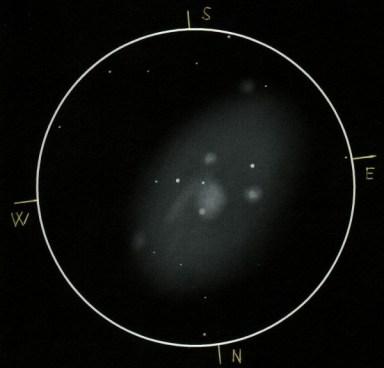 Visual Sketch of NGC 2403