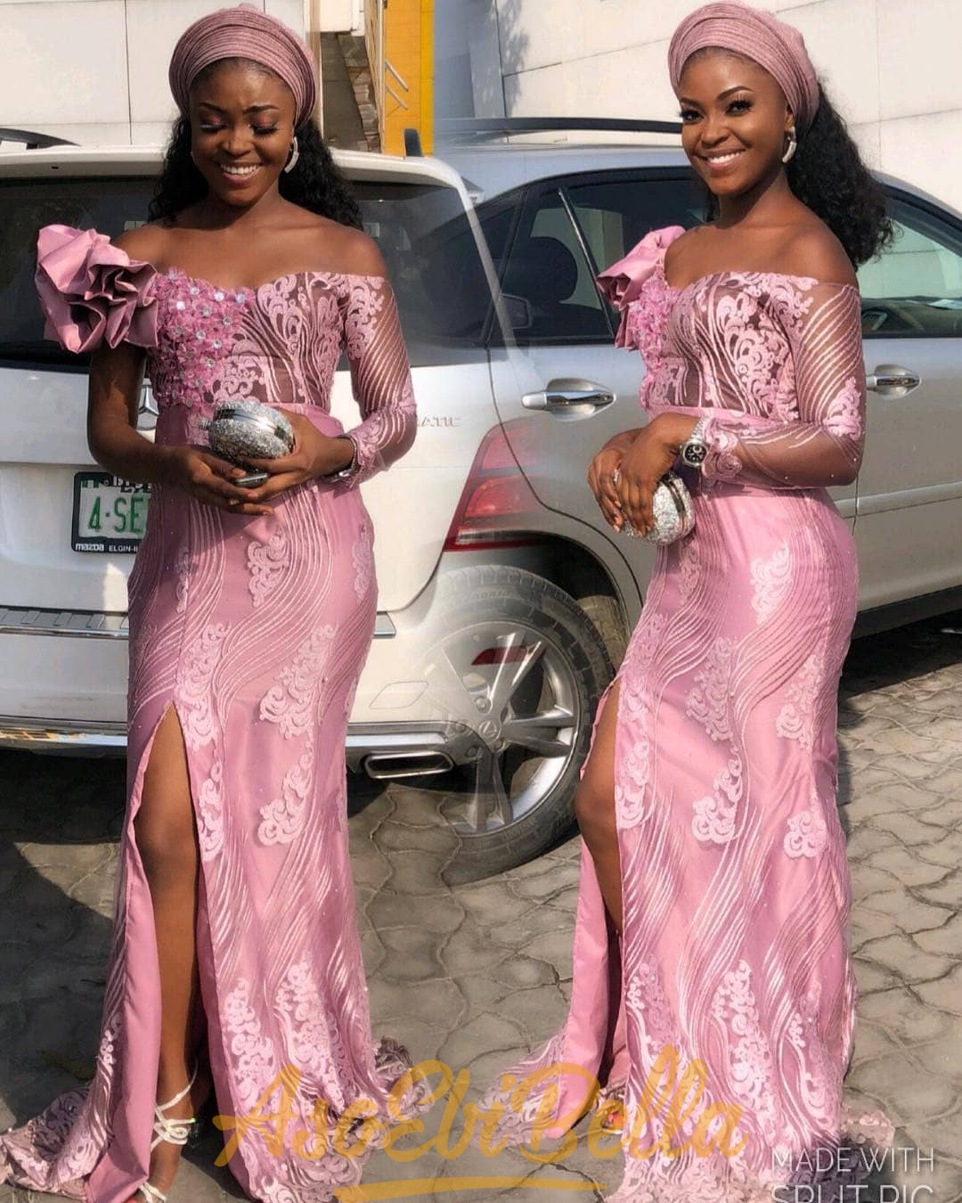 Image result for onion pink asoebi