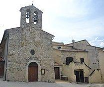 Saint-Sauveur-Gouvernet : église et salle informatique