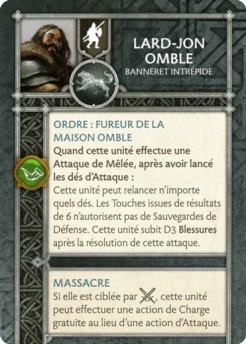 Lard-Jon Omble - Banneret Intrépide (Verso) FR