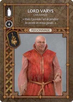 Lord Varys - L'Araignée (Recto) FR