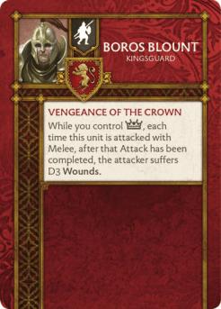Boros Blount Kinsguard Verso