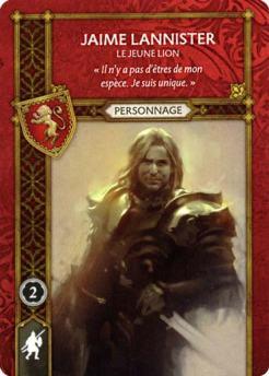 Jaime Lannister - Le Jeune Lion (Recto) FR