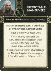 Mance Rayder - King Beyond The Wall - Predictable Maneuvers