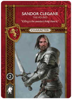 Sandor Clegane The Hound Recto v1.4
