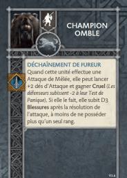 Champion Omble 1.4 FR