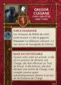 Gregor Clegane Chien Enragé de Lord Tywin 1.4 FR