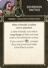 Harma - Vanguard Commander Diversion Tactics