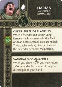 Harma - Vanguard Commander (Verso) US