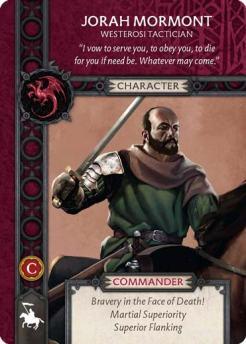Jorah Mormont - Westerosi Tactician (Recto) US