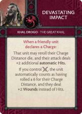 Khal Drogo - The Great Khal -Devastating Impact