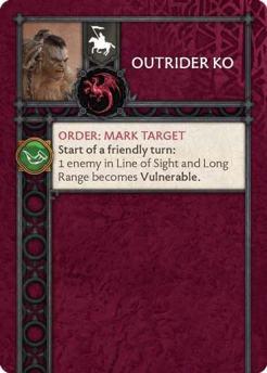 Outrider KO (Verso) US