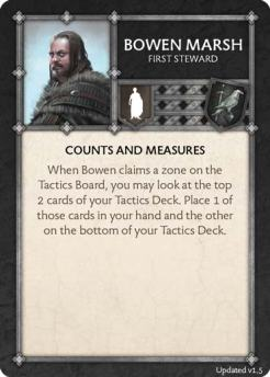 Bowen Marsh - First Steward (Verso) 1.5 US