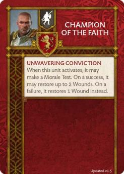 Champion Of The Faith (Verso) 1.5 US
