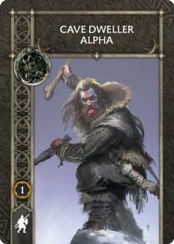 Cave Dweller Alpha (Recto) US