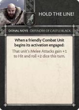 Donal Noye - Defender Of Castle Black Hold The Line!
