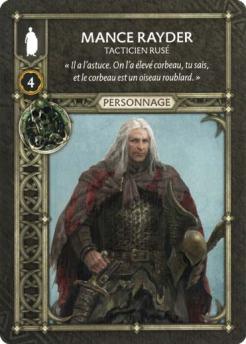 Mance Rayder - Tacticien Rusé (Recto) FR