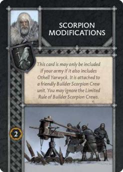 Scorpion Modifications (Recto) US