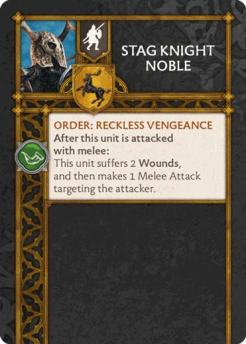 Stag Knight Noble (Verso) US