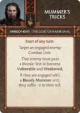 Vargo Hoat - The Goat Of Harrenhal Mummer's Tricks