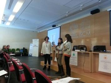 Dinámicas en el curso (Foto: Ana Fernández)