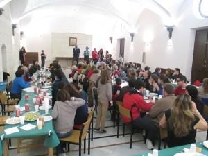 Asistentes a la Jornada Solidaria en AS Granada