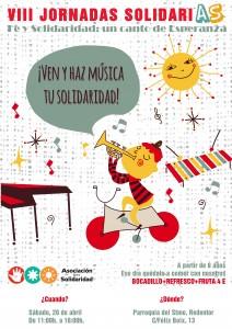 Poster Fe y Solidaridad un canto de Esperanza